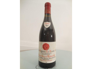 La Grande Rue Grand Cru Monopole - Domaine François Lamarche - 1990 - Rouge