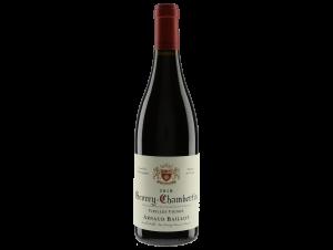 Gevrey-Chambertin  Vieilles Vignes - Domaine Arnaud Baillot - 2018 - Rouge