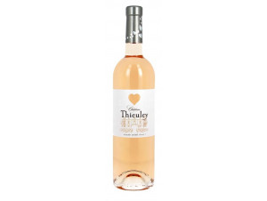 Château Thieuley Rosé - Made with Love - Château Thieuley - Vignobles Francis Courselle - 2016 - Rosé