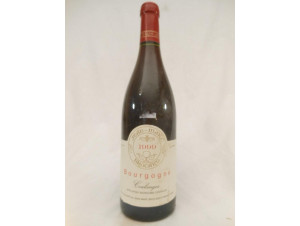 Bourgogne Coulanges - Jean Marc Brocard - 1999 - Rouge