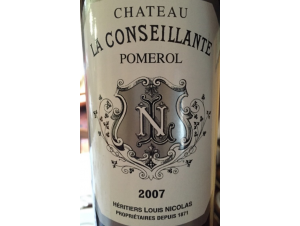 Château La Conseillante - Château La Conseillante - 2007 - Rouge