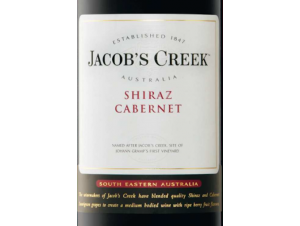 Jacob's Creek Shiraz Cabernet - PERNOD RICARD - Jacob's Creek - 2007 - Rouge