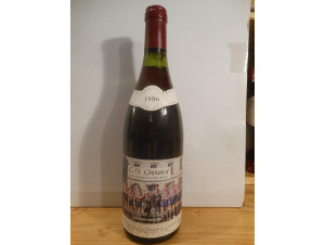 Co Creusot - Domaine Duvernay - 1986 - Rouge