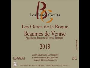 Les ocres de la Roque - Domaine des Baies Goûts - 2013 - Rouge