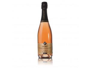 Crémant De Bourgogne Rosé - Domaine Pierre-Yves & Olivier Fichet - Non millésimé - Effervescent