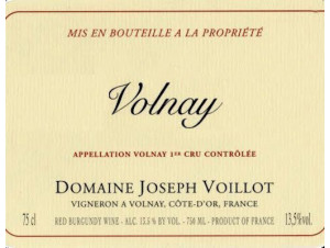 VOLNAY - Domaine Joseph Voillot - 2016 - Rouge