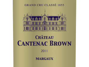 Château Cantenac Brown - Château Cantenac Brown - 2011 - Rouge
