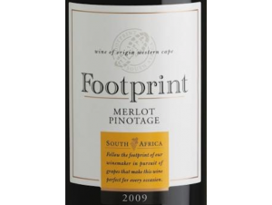 Merlot-Pinotage - Footprint - 2017 - Rouge