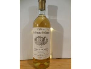 Château Crabitan Bellevue - Château Crabitan Bellevue - 1992 - Blanc