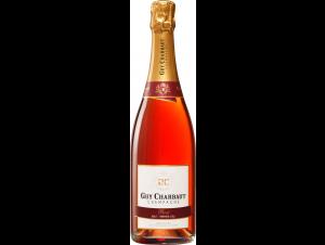 Rosé - Brut-Premier Cru - Champagne Guy Charbaut - Non millésimé - Effervescent