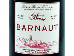 Bouzy Rouge Millésimé - Champagne Barnaut - 2004 - Rouge