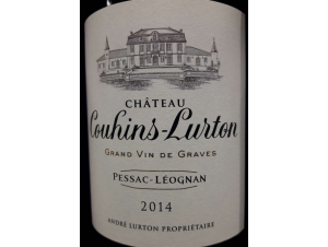 Château Couhins-Lurton - Château Couhins-Lurton - 2014 - Rouge