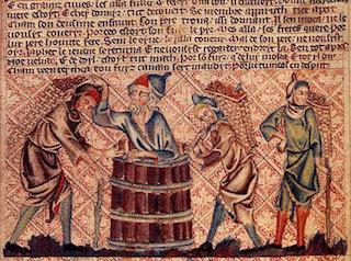 Noé faisant du vin