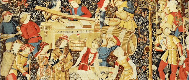 Vin au Moyen Âge