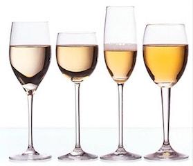 Nuances de vin blanc